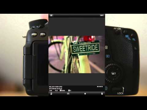 Canon 70D/6D Wifi Features: Setup and Demo