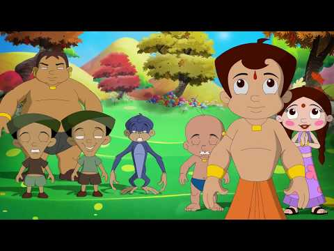 Chhota Bheem And The Curse Of Damyaan - Exclusive Song Jham Jham Jhambura video