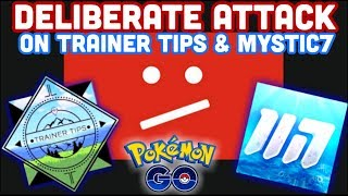 TRAINER TIPS & MYSTIC7 FALSELY REMOVED FROM YOUTUBE | MAMOSWINE CD IN POKEMON GO