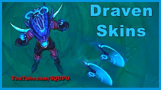 All Draven Skins (League of Legends)