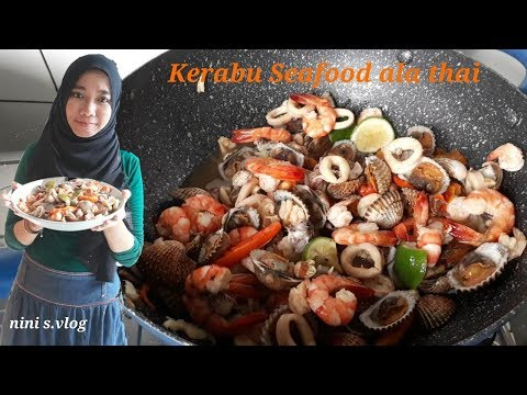 Kerabu seafood ala thai