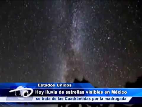 HOY LLUVIA DE ESTRELLAS