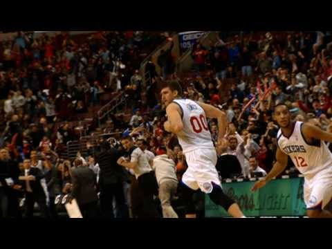 Spencer Hawes' CLUTCH Shot in Slow-Mo
