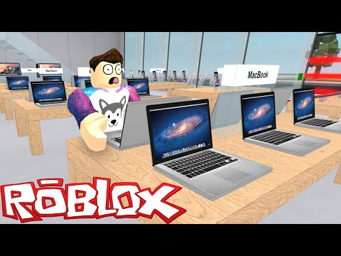 Roblox - Apple Store Tycoon - MY OWN APPLE STORE!