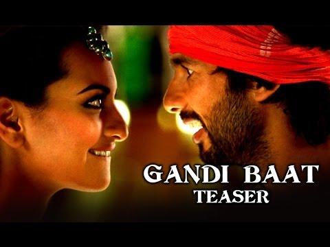 Gandi Baat Song Teaser Ft. Shahid Kapoor, Prabhu Dheva & Sonakshi Sinha - R...rajkumar video