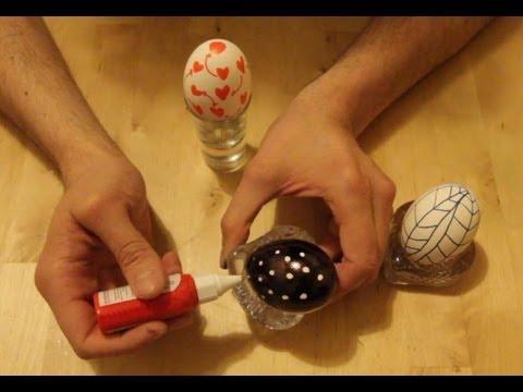 C mo pintar huevos de pascua youtube for Como pintar huevos de pascua
