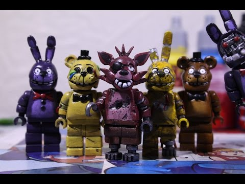 LEGO Five Nights At Freddy's Figures
