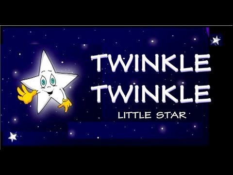 Twinkle  Twinkle - With Lyrics video