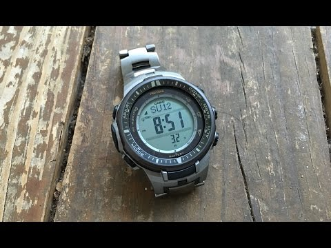 The Casio ProTrek PRW-3000T-7DR Wristwatch: The Full Nick Shabazz Review