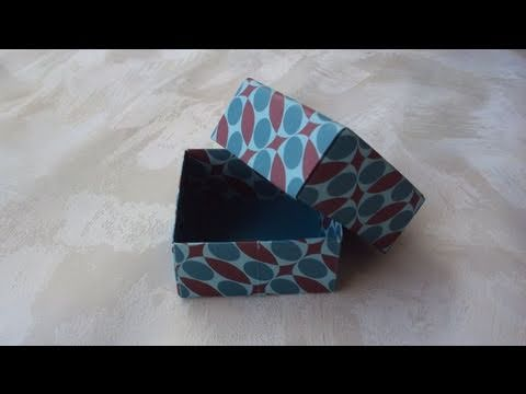 Scatoline origami (tutorial)