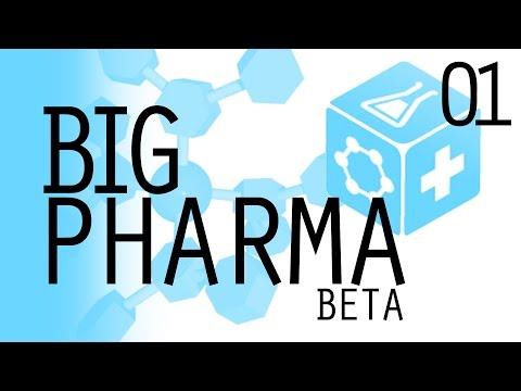 Chemistry 101 (Let's Play Big Pharma | Episode 1) [Big Pharma Beta Gameplay]