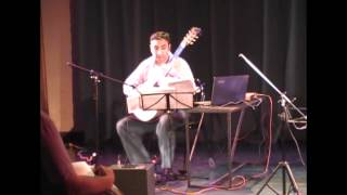 Mario Davidovsky - Synchronisms No.10 for guitar and tape. Guitar: Javier Bravo