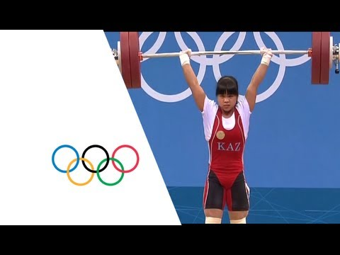 Weightlifting Women's 53kg Group A - Final - Gold - Silver - London 2012 Olympic Games Highlights Image 1