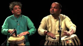 Tabla vs Djembe - Super-Intricate Indian beats by Taufiq