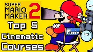 Super Mario Maker 2 Top 5 CINEMATIC Courses (Switch)