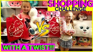 SISTERS BUY EACH OTHER OUTFITS! - $50 Shopping Challenge!