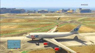 Grand Theft Auto V: How To Steal A Jumbo Jet