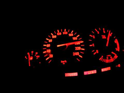 BMW e38 740i 0-240 acceleration