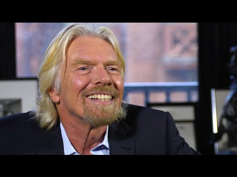 Sir Richard Branson On Entrepreneurship