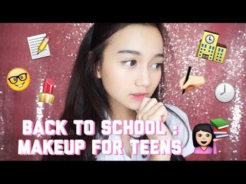 BACK TO SCHOOL : Makeup for teens || ft. Mega Gumelar