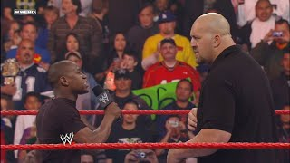 Big Show challenges Floyd Mayweather to a WrestleMania match: Raw, Feb. 18, 2008