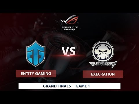Execration vs. Entity Gaming | Game 1 | Bo3 | ASUS ROG Philippine Finals 2017