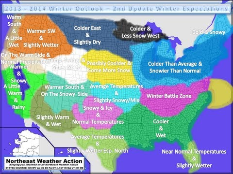 2013 - 2014 Winter Outlook - 2nd Update