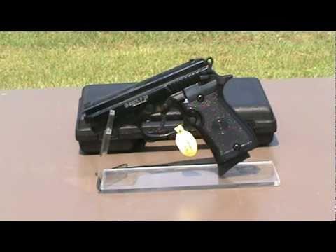 Replica Model P29 9mm Black Blank Firing Gun.mpg - YouTube