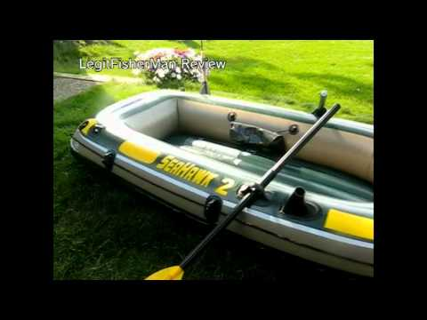 Intex Seahawk 2 Inflatable Boat Review