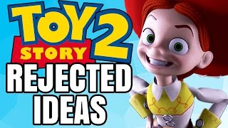 7 Ideas REJECTED from Toy Story 2! | Pixar Plot Twists - Jon Solo
