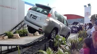 Demostración Toyota Prado streaming