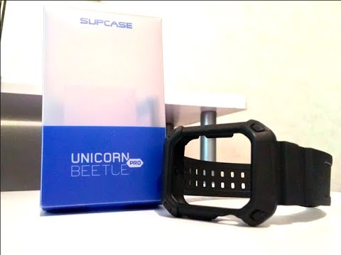 PROTECT YOUR APPLE WATCH! Unicorn Beetle Apple Watch Case Unboxing And Review