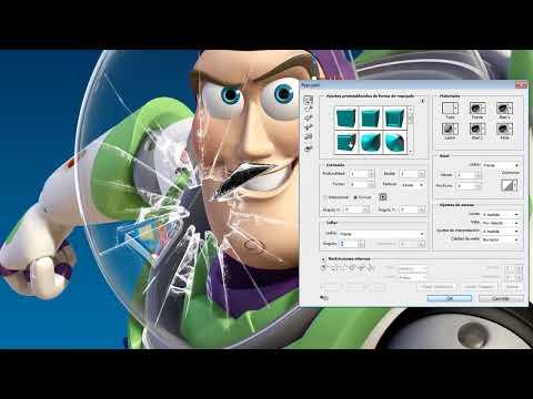 Cómo romper un cristal en Photoshop