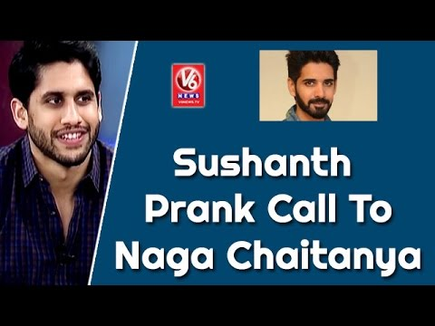 Hero Sushanth Prank Call To Naga Chaitanya     Special Chit Chat    V6 News