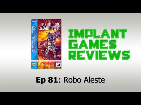 Robo Aleste Review (Sega CD) 60 fps
