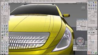 Alias Automotive 2014 Surface modeling & Class-A surfacing - Align tool & Nurbs to Bezier