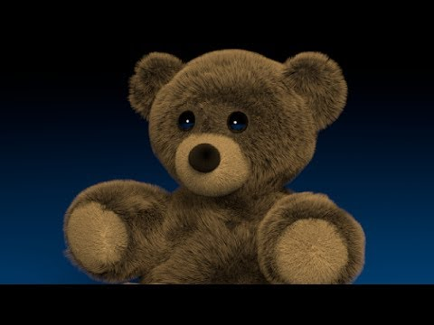 Blender Tutorial: Fuzzy Stuffed Bear