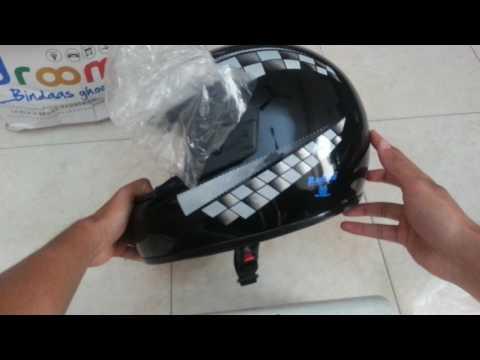 Droom.in Rs 9 Helmet Review Flash Sale