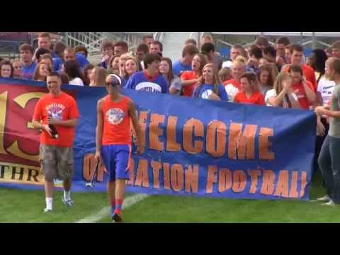 Whiteland Community High School's 2014 Operation Football Video!