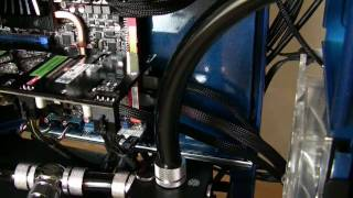 Cooler Master ATCS 840 - Water cooling mods and cable management