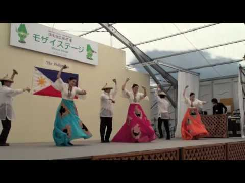 Philippine Folk Dance By Tokyo University Of Foreign Studies Dance Troupe video