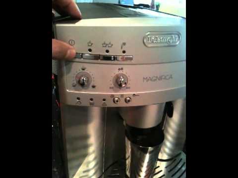 My Delonghi Coffee Maker Leaks : DeLonghi Magnifica ESAM3300 Troubleshooting - YouTube