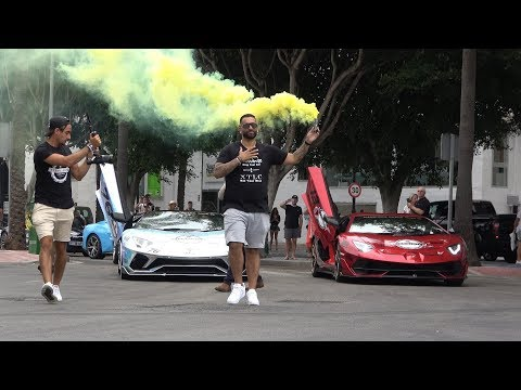 Yiannimize Grand Tour start in Marbella, Puerto Banus