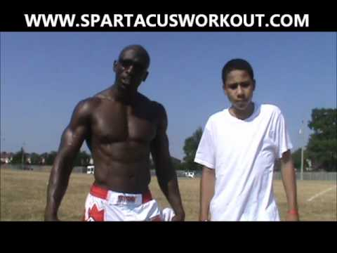 SPARTAN TEEN WORKOUT - MUSCLE BUILDING AND FAT BURNING