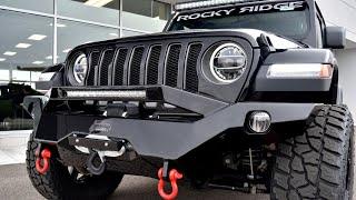 2019 Jeep Wrangler JL Unlimited Rubicon - Rocky Ridge K2 - Quick Walkthrough | 28663T