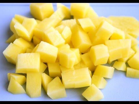 Как нарезать картошку. Простой метод нарезки картошки для различных блюд.