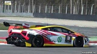 2013 Lamborghini Gallardo SuperTrofeo Sound on Track!