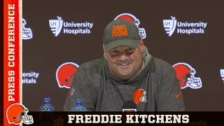 Freddie Kitchens: We're Coming Together as a Family Through Adversity | Browns Press Conference