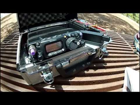 Field day CW QRP
