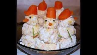Детские новогодние/праздничные блюда